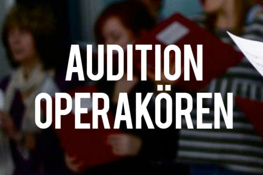 Audition till operakören