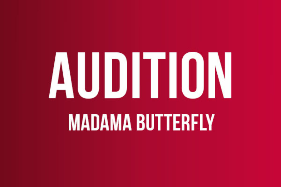 Audition till Madama Butterfly
